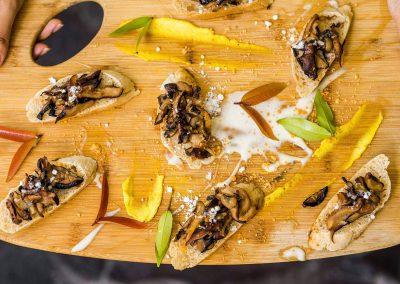 Wild Mushroom and Truffle En Croute